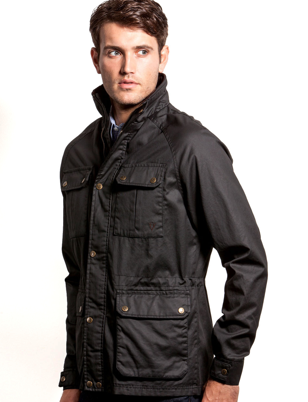 Vedoneire Mens Waxed Jacket - Wax Coat